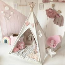 120cm-Large-Canvas-Teepee-Tent-Kids-Sleeping-Newborn-Photography-Photo-Props-Kids-Teepee-Tipi-House-Children