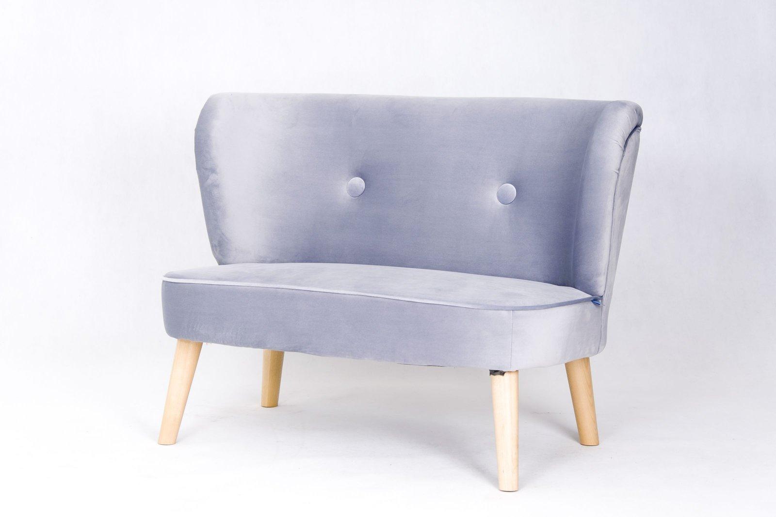 Retro stiliaus sofa vaikams