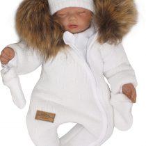 Unikalny-kombinezon-niemowlecy-zimowy.-Pajac-ocieplany--dla-noworodka,-niemowlaka-modny-pajacyk-wloczkowy