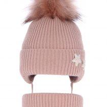 pol_pl_Komplet-dla-dziewczynki-czapka-i-komin-zimowy-rozowy-Delicja-3838_1