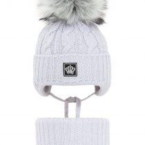 pol_pl_Komplet-zimowy-dla-dziewczynki-czapka-i-komin-jasnoszary-Tigra-2298_1
