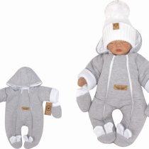 Unikalny-szary-kombinezon-niemowlecy-zimowy.-Pajac-ocieplany--dla-noworodka,-niemowlaka-modny-pajacyk-na-zime (4)